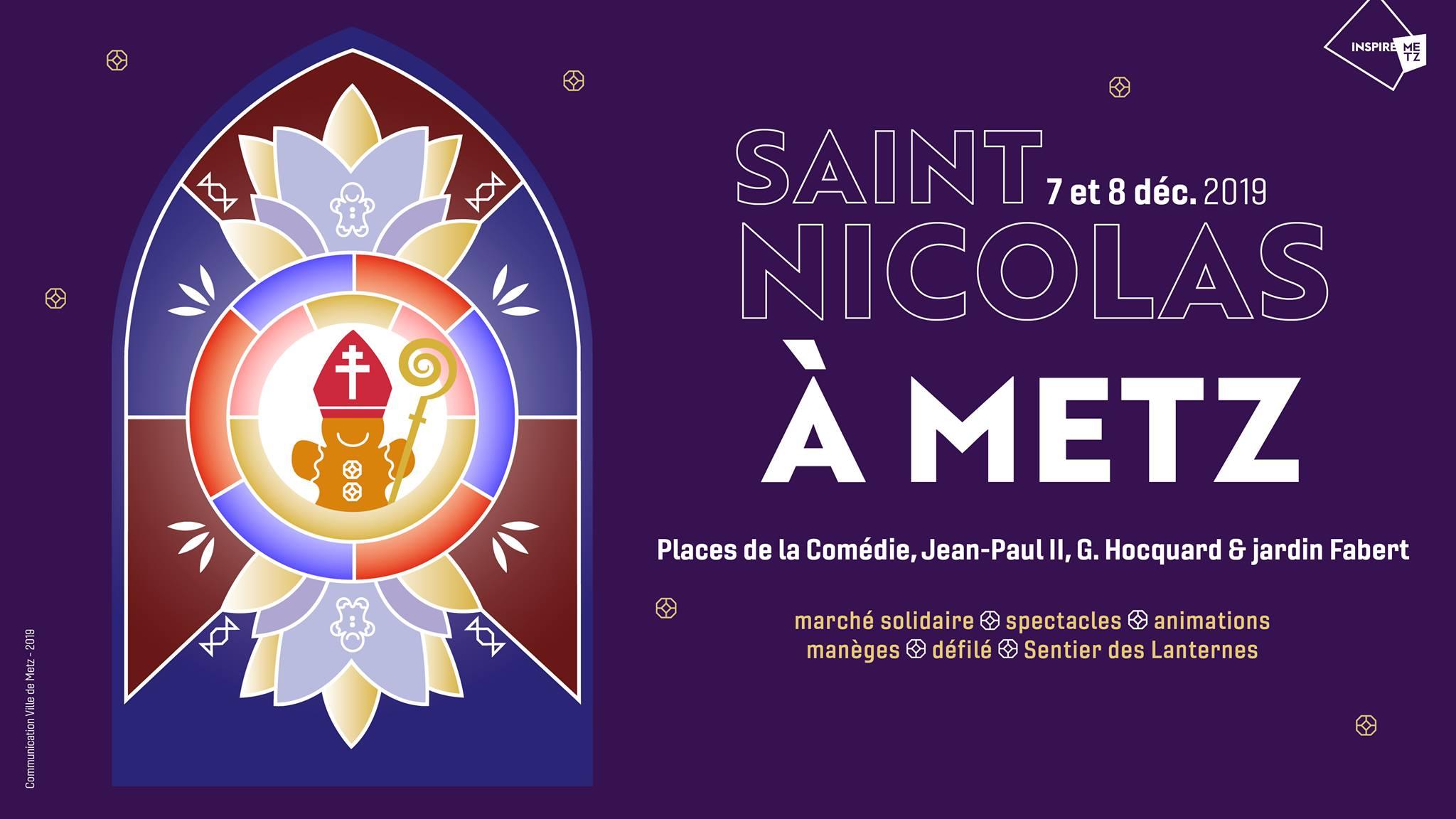 Retrouvez nous au marché solidaire et artistique de la Saint-Nicolas – 7 et 8 décembre à Metz 🎉 !