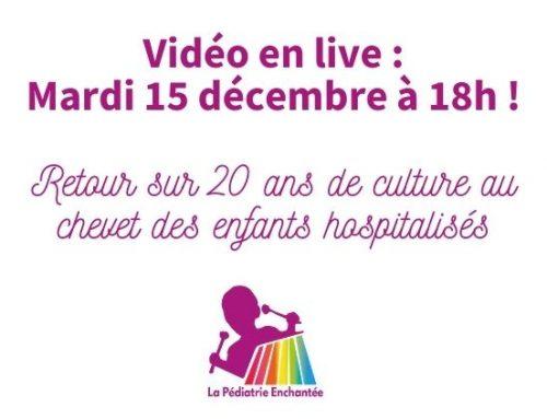[20 ANS DE L'ASSOCIATION] – Retrouvez-nous en live ! 😀
