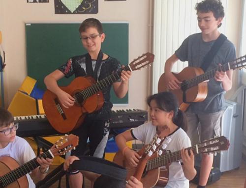 «La Pédiatrie Enchantée» fête la musique !