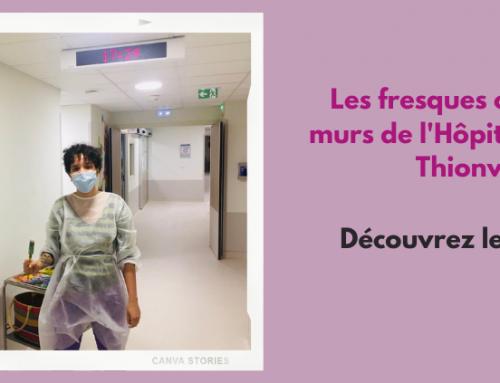 Les artistes décorent les services pédiatriques de l'Hôpital Bel-Air !