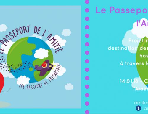 Découvrez «Le Passeport de l'Amitié» !
