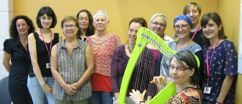 Une harpe enchantée !
